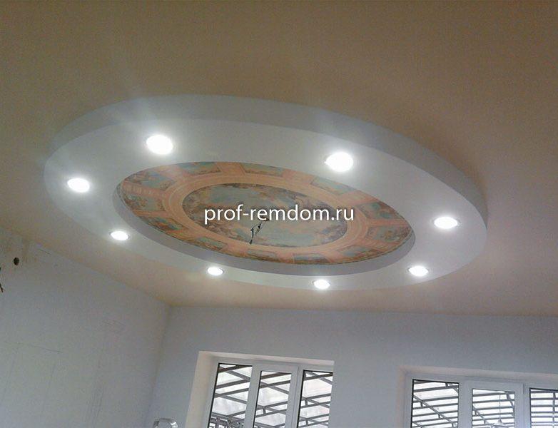Натяжные потолки фото 1